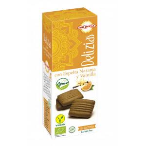 Biscuiti din spelta cu portocale si vanilie