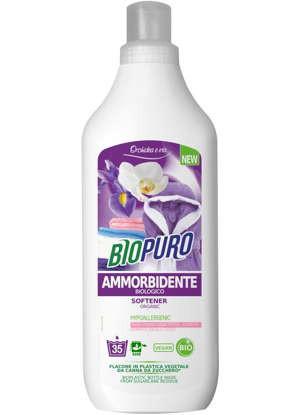 Balsam hipoalergen pentru rufe iris si orhidee bio 1 L