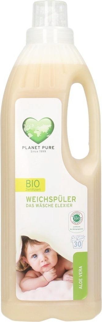 Balsam bio pentru hainutele copiilor -aloe vera- 1L Planet Pure