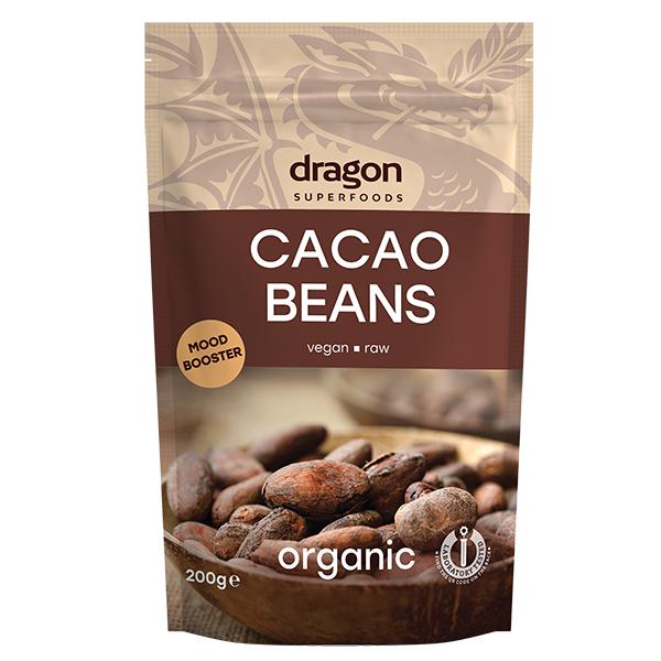 Boabe de cacao intregi eco 200g