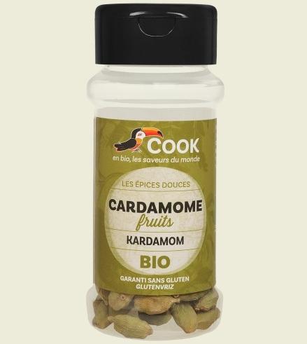 Cardamom intreg bio 25g Cook