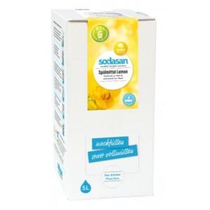 Detergent vase lichid bio lamaie 5L SODASAN
