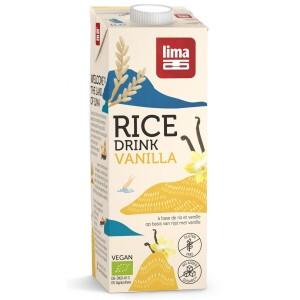 Bautura vegetala de orez cu vanilie eco 1L Lima