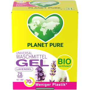 Detergent GEL bio de rufe - lavanda - 3 L Planet Pure