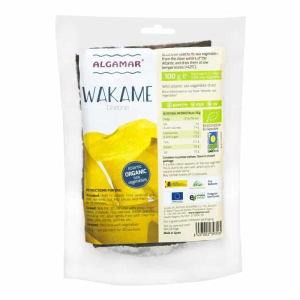 Alge Wakame bio - Algamar