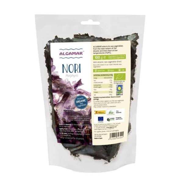 Alge marine Nori maruntite bio - Algamar