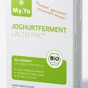 Ferment probiotic pentru iaurt bio LACTO PRO 15g My.Yo