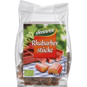 Rubarba confiata bio 100g Dennree
