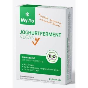 Ferment probiotic pentru iaurt bio VEGAN 15g My.Yo